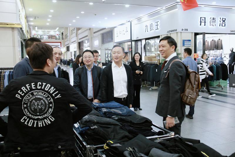 融入长三角 加速内循环 2020温州时尚博览会组委会走进常熟服装城